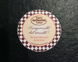 Portobello (2st.) met Reblochon kaas & slaatje